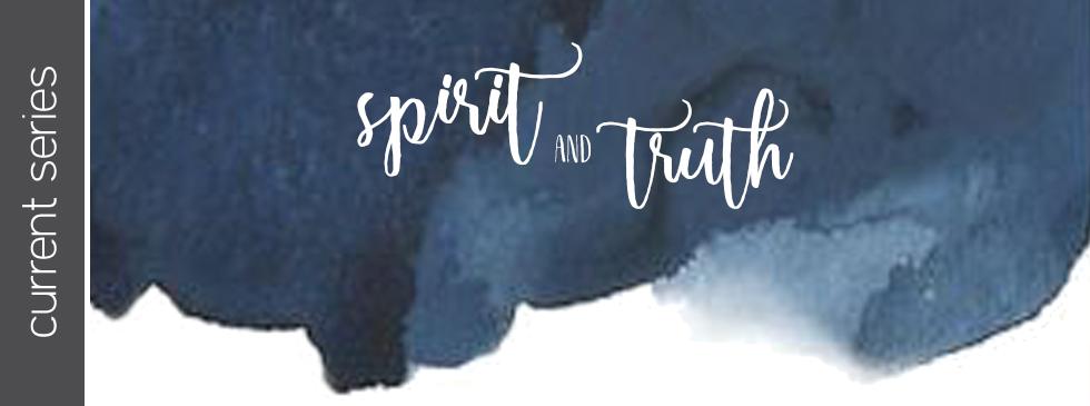 Spirit and Truth image on Antioch Church Lebanon website